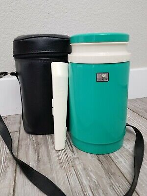 Vintage! ZOJIRUSHI (LK-1200) Thermal LUNCH BOX Thermos Containers Set W/Case • 32.53£