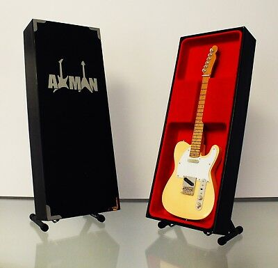 $ CDN47.69 • Buy Cream: - Miniature Guitar Replica - Display Case & Stand Included