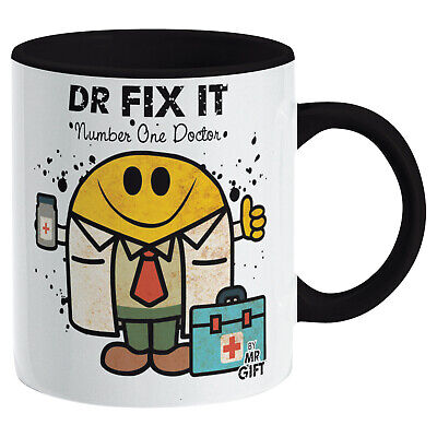 £5.99 • Buy Dr Fix It Mug - Gift For The World's No 1 Doctor Present Gift For Doctor Him Man