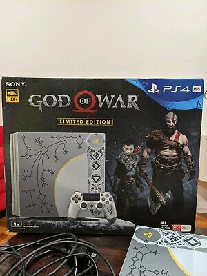 AU799 • Buy Gorgeous Super Rare PS4 PRO Limited EditionGod Of War (like New Condition)