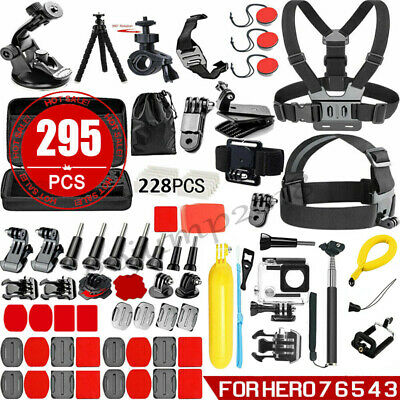 AU30.89 • Buy  Accessories Pack Case Chest Head Floating Monopod GoPro Hero 8 7 6 5 4 3+2