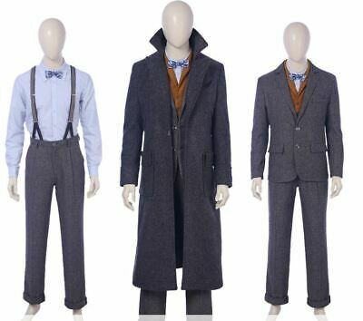 $37.99 • Buy Fantastic Beasts The Crimes Of Grindelwald Newt Scamander Cosplay 2XL Costume