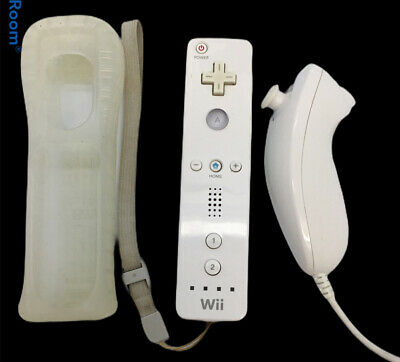 $ CDN32.89 • Buy Nintendo Wii Remote Controller With Nunchuk White OEM     L2