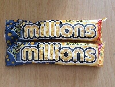 £2.39 • Buy MILLIONS BANANA SWEETS /  2 X 40g PACK / LIMITED EDITION