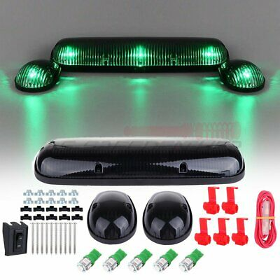 $35.69 • Buy 3x Clear Green Cab Marker Driving LED Lights For Chevy Silverado/GMC Sierra