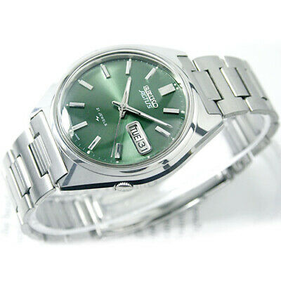 $ CDN666.69 • Buy Vintage SEIKO 5 Actus R Automatic Day Date 21 Jewels SR Green Dial Mens Watch