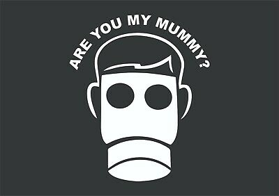 £3.35 • Buy Dr Who Are You My Mummy? Sticker Vinyl Decal Car Bike Laptop Wall Doctor Who