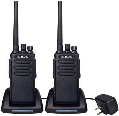 $ CDN291.31 • Buy Retevis Rt81 2 Way Radios Long Range Waterproof Uhf 32Ch Group Call Vox Dmr Radi