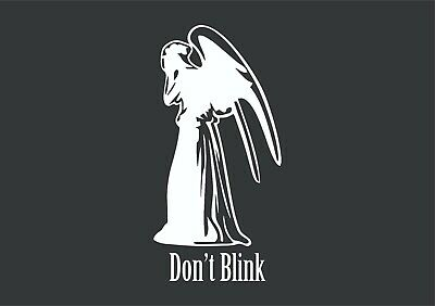 £3.87 • Buy Dr Who Weeping Angel Sticker Vinyl Decal Car Laptop Wall Doctor Who Don't Blink