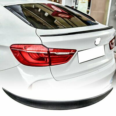 $159.90 • Buy Real Carbon Fiber CS Style Trunk Spoiler For 2019+ BMW X4 G02 SUV