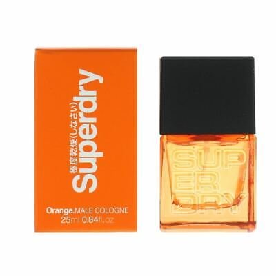 Superdry Orange. Male Cologne 25ml Spray For Him NEW. Damaged Box • 9.99£
