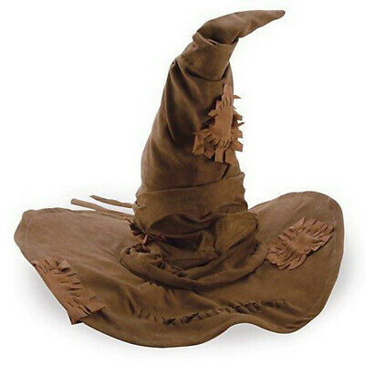 £17.93 • Buy Harry Potter Sorting Hat Adult Hogwarts Wizard Movie Cosplay Costume Licensed