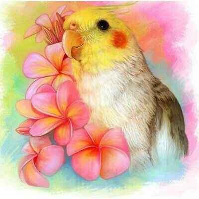 AU16.88 • Buy 5D Full Drill Diamond Painting Parrot Cross Stitch Kits Embroidery Arts Decors
