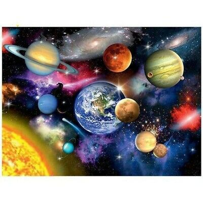 AU14.88 • Buy 5D Full Drill Diamond Painting Kits Art Embroidery Decors Space Planet DIY Gifts
