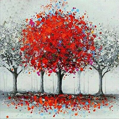AU16.88 • Buy 5D Full Drill Diamond Painting Tree Cross Stitch Kits Embroidery DIY Arts Decors