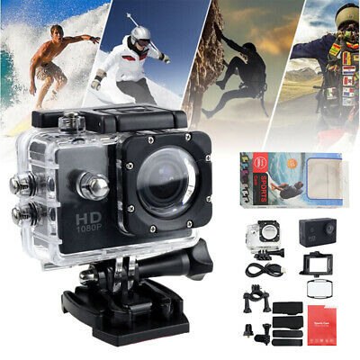 AU18.96 • Buy 140° With Go Pro Camera Hero Full 4K HD 1080P DV Waterproof Sports Action Video
