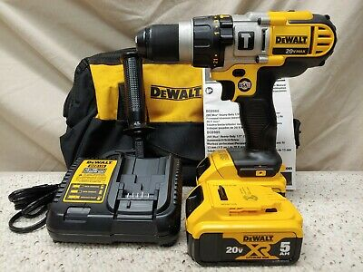 $298.55 • Buy DeWALT·DCD985M2·20vMAX 1/2  3-Speed Hammerdrill/Driver Kit·2-5.0Ah Batteries·New