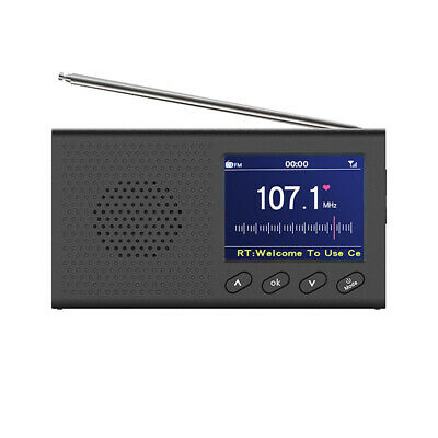 Multifunctional Digital DAB DAB FM Radio With BT AM Tuning USB Rechargeable 1x • 24.59£