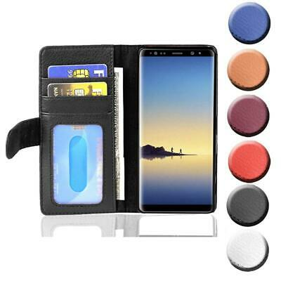 $ CDN12.22 • Buy Case For Samsung Galaxy NOTE 8 Phone Cover With Card Slots Wallet Book