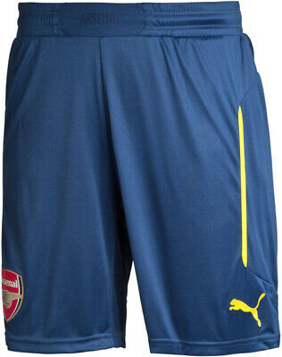Arsenal Puma Player Match Issue 2014/15 Away Shorts - BNWT - Mens XL • 18.50£