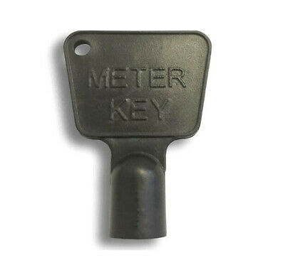 Service Utility Meter Key Gas Electric Box Cupboard Cabinet Triangle Reading Diy • 1.88£