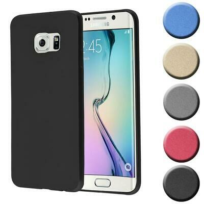 $ CDN8.88 • Buy Silicone Case For Samsung Galaxy S6 EDGE PLUS Shock Proof Cover Mat Metallic TPU