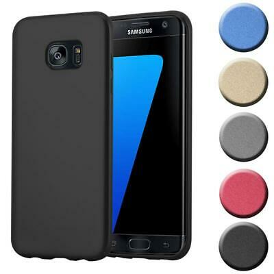 $ CDN8.88 • Buy Silicone Case For Samsung Galaxy S7 EDGE Shock Proof Cover Mat Metallic TPU