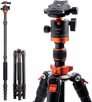 AU129.99 • Buy K&F Concept 67  Aluminum DSLR Camera Tripod Monopod With 360 Degree Ball Head