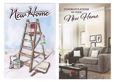 Quality ~ New Home Card 2 Designs 1st P&p • 1.99£