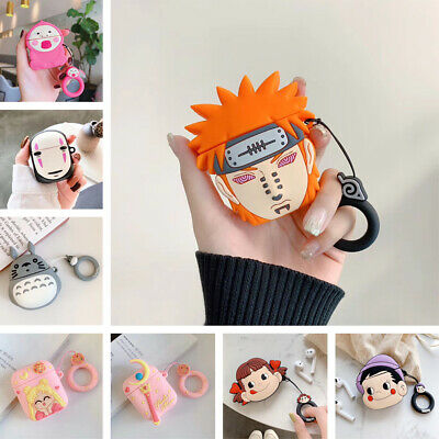 Cute Anime Character Silicone Airpods Case Cover For A Pple Airpods Charging Box • 4.99£