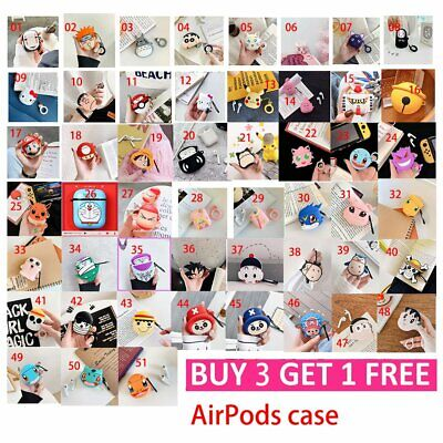 Japanese Anime Silicone Case Cover Protective For Apple Airpod Charging Case • 4.99£