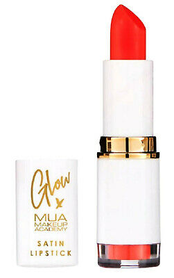 £2.95 • Buy Mua Glow X Satin Lipstick Hot Coral Brand New & Sealed Only £2.95 Free Post !!!
