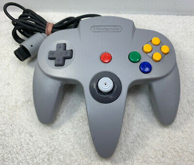 $ CDN34.99 • Buy Nintendo 64 N64 OEM Official Authentic Controller - Gray - Good Stick - Tested