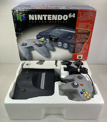 $ CDN249.99 • Buy N64 Nintendo 64 System Console Complete In Box Tested Working Read Description