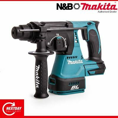 View Details Makita DHR242Z 18v SDS+ Plus Brushless Cordless Rotary Hammer Drill Body Only • 152.00£