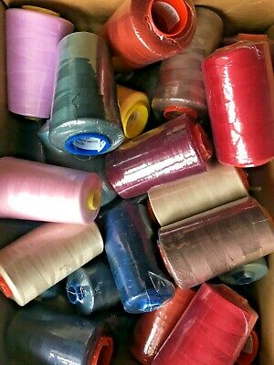 £1.99 • Buy CLEARANCE 5000yd Polyester Thread Cones ~ PICK N MIX ~ Overlocker 120