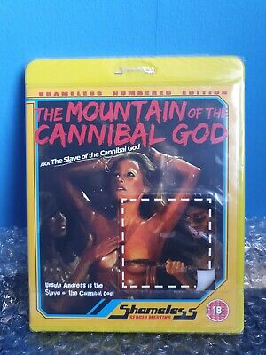 The Mountain Of The Cannibal God 1978 [BluRay] Shameless Numbered Edition 10 NEW • 15£