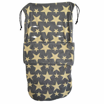 Snuggle  Buggy Footmuff Compatible With Buggy Puschair Baby Star Designs • 18.99£