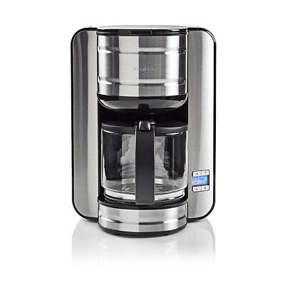 View Details 1.5L Filter Coffee Maker 12 Cup Machine Automatic Digital 24Hr Timer Anti Drip • 49.92£