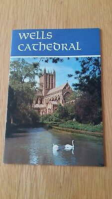 1985 Wells Cathedral Guide Booklet. Vgc • 1.50£