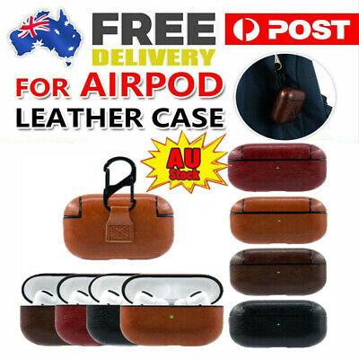AU10.48 • Buy For AirPods Pro Case Protective Leather Holder Bag Apple Earphone Accessories &H