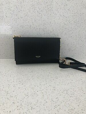 AU149 • Buy Oroton Byron Crossbody Clutch And Pouch Black
