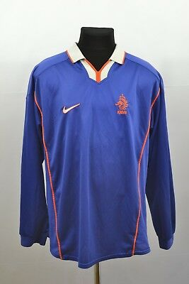 Netherlands Holland 1998 1999 2000 Away Football Soccer Shirt Jersey Long Sleeve • 79.99£