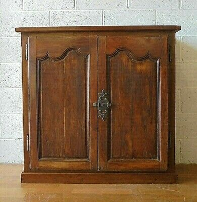 Large Old Reclaimed Antique French Sideboard Buffet Cupboard Cabinet. • 200£