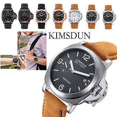 $ CDN25.84 • Buy KIMSDUN Men's Fashion Watch Quartz Leather Waterproof Luminous Sports K-711D