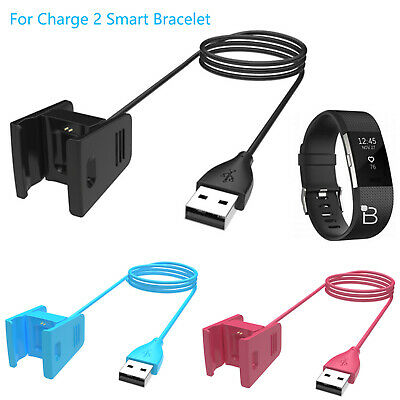 $ CDN4.13 • Buy USB Charging Dock Cable Band Charger For Fitbit Charge 2 Activity Tracker Watch