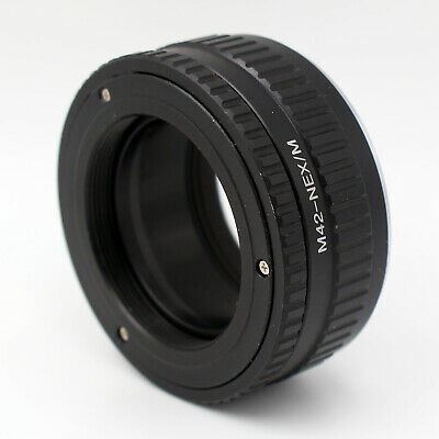 $37.96 • Buy M42-NEX/M Macro Adjustable Focusing Helicoid Adapter For M42 Lens To Sony E Moun
