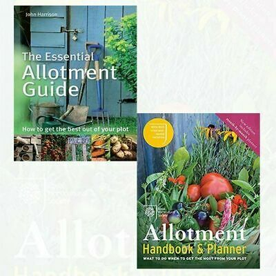 £22.99 • Buy RHS Allotment Handbook,The Essential Allotment Guide 2 Books Collection Set NEW