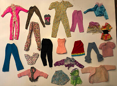 $ CDN13.59 • Buy Lot Of Barbie Clothes Vintage, Original, & Homemade Barbie Ken PJ Skipper    L5