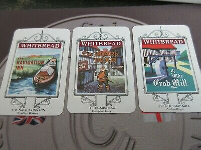 £4.99 • Buy Whitbread Inn Signs From The Stratford-upon-avon 25 Card Series Great Condition